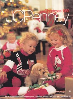 JC Penney Christmas 1989 - A Wish Book Catalog. Couldn't wait to grab my pencil and start circling things!