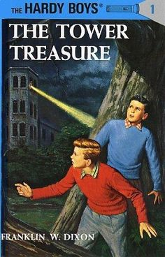 The Hardy Boys are another classic series that I grew up with that never gets old. The boys will relate more with this series than with Nancy Drew, but the series have many similarities.