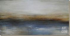 """Sea of Tranquility Hand Painted Art by Charlene Lynch at Art.com - 57""""x29"""""""