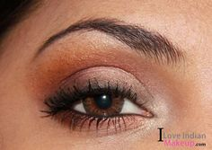 Check here to get this look : http://iloveindianmakeup.com/soft-coral-daytime-smokey-eye-makeup/