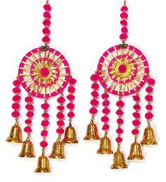 Diwali Diy, Diwali Craft, Diwali Gifts, Door Hanging Decorations, Diy Diwali Decorations, Handmade Decorations, Cd Crafts, Diy Crafts For Gifts, Handmade Decorative Items