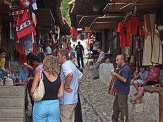 Cultural Tours Albania - Kruje's old bazaar
