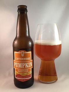 Cottonwood Pumpkin Ale - Foothills Brewing Beer Brewing, Home Brewing, Beer Maker, Pumpkin Beer, Beers Of The World, All Beer, Beer Brands, Beer Packaging, Beer