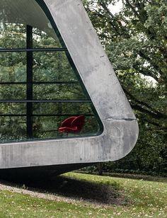 Zaha Hadid. Ordrupgaard Museum Extension #6 | Flickr : partage de photos !