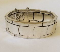 Antonio Pineda 970 Silver Link Bracelet by ArchetypeCollection