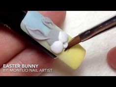 """""""Easter Bunny"""" - http://47beauty.com/nails/index.php/2016/08/10/easter-bunny/ http://47beauty.com/nails/index.php/nail-art-designs-products/  """"Easter Bunny"""" 3D Nail Art.!!"""