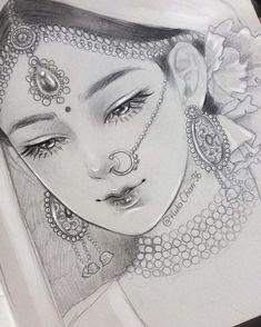 Ideas For Sad Art Drawings Fanart Pencil Sketch Drawing, Girl Drawing Sketches, Girly Drawings, Art Drawings Sketches Simple, Pencil Art Drawings, Drawing Art, Pencil Sketches Of Girls, Girl Face Drawing, Cute Drawings Of Girls