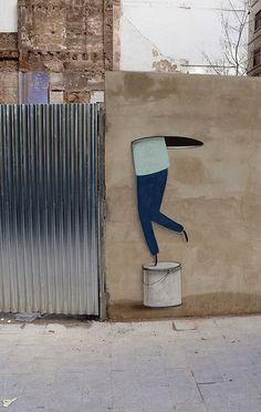 #Escif #Streetart