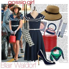Blair Waldorf - Gossip Girl, created by itsalessia on Polyvore