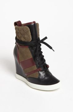 Chloé Wedge Sneaker available at #Nordstrom