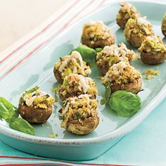 Stuffed Mushrooms With Pecans | MyRecipes.com