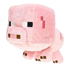 From the Overworld Animal Mobs is this Minecraft baby pig. This baby pig plush toy is fun for all ages. It is and features detailed pixelated embroidery and a soft plush exterior. Minecraft Baby, Minecraft Gifts, Minecraft Stuff, Minecraft Clothes, Minecraft Bedroom, Minecraft Ideas, Toys R Us, Baby Pigs, Best Birthday Gifts