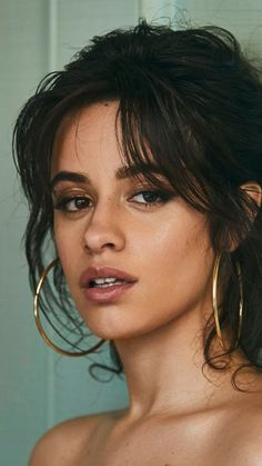 Camila Cabello, beautiful, dark hair, photoshoot, 720x1280 wallpaper