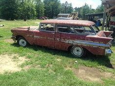 57 Pontiac Starchief Safari Wagon Basketcase