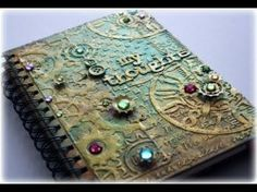 Steampunk Mixed Media Journal Cover Tutorial – YouTube