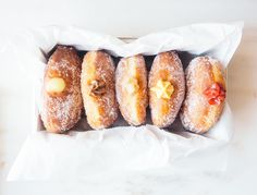 1 Great Donut Recipe, 5 Amazing Fillings | Do the donut shop one better with these decadent homemade treats.