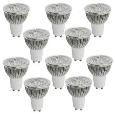 Real Rushed Freeshipping Ccc 3020 Details About Lot of 10 110v Gu10 Led Bulbs-3200k Spotlights-50watt Equivalent