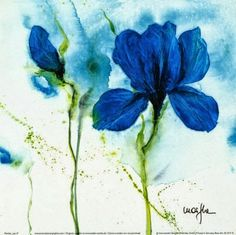So Beautiful in Blue! | Bonita Rose, Life.Love.Color.Art