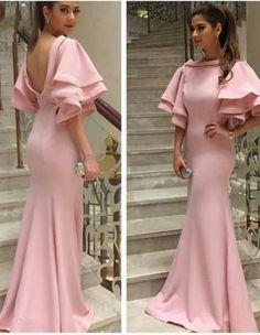 Pink Prom Dress ,Satin Prom Dress ,sexy Prom Dress ,Backless Prom Dresses,new Prom Dress CR 3159 Backless Mermaid Prom Dresses, Pink Prom Dresses, Girls Formal Dresses, Pink Dress, Sexy Dresses, New Dress, Dress Prom, Party Dresses, Evening Dress Long