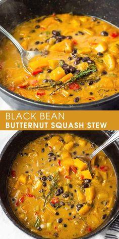 Soup Recipes, Whole Food Recipes, Vegetarian Recipes, Cooking Recipes, Healthy Recipes, Vegetarian Stew, Recipes Dinner, Natural Food Recipes, Vegan Recipes