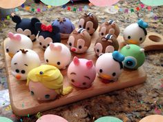 My Tsum Tsum Cake Toppers