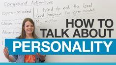 Learn English Vocabulary: Compound Adjectives to describe people