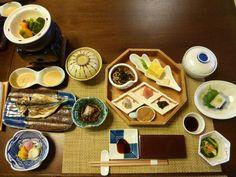"""Prima colazione, Camera di """"Kizuna"""" (Hotel), Shuzenji-Onsen (Terme) Shizuoka Japan (Settembre)"""
