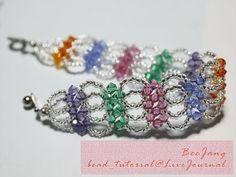 Another easy bracelet for beginner. Enjoy! by chrystal
