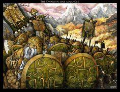 Dwarven march by Stormcrow135.deviantart.com on @deviantART