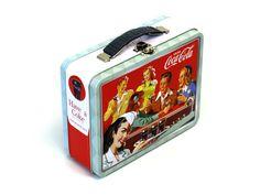 Lunch Box - Coca Cola (black handle)