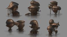 Hut designs by ~Jarkuzy on deviantART