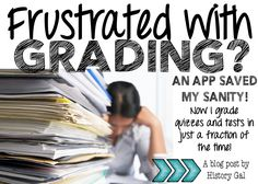 I grade quizzes and tests in just a fraction of the time it used to take me! Read my post to find out! Social Studies Lesson Plans, Teaching Social Studies, What Is Labor Day, Electoral College Map, Secondary Source, History Teachers, Financial Literacy, Teacher Hacks, School Teacher