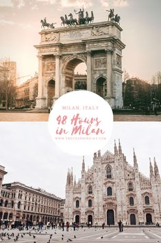 48 Hours in Milan – The Charming Jay Italy Vacation, Vacation Destinations, Dream Vacations, Vacation Spots, Italy Travel, Family Vacations, Places To Travel, Places To Visit, Milan Travel