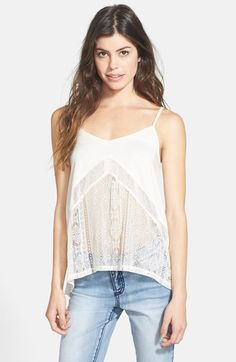 Rip Curl 'Cross Your Heart' Tank (Juniors) available at #Nordstrom