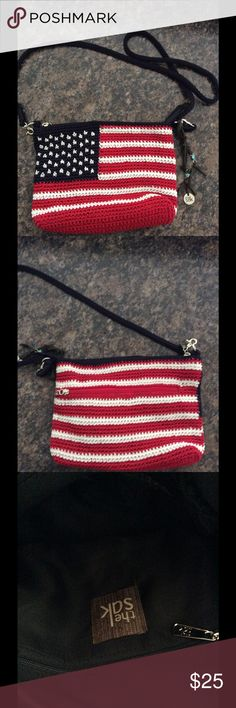 The Sak American flag purse Cute Patriotic Crochet bag. Comment for more details . Send me an offer The Sak Bags Crossbody Bags