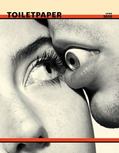 Cover of Toilet Paper Magazine (Maurizio Cattelan).