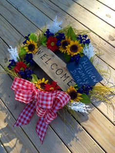A personal favorite from my Etsy shop https://www.etsy.com/listing/280207246/country-18-grapevine-wreath