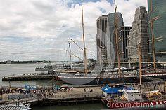 View on Hudson New York City