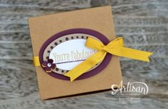 Artisan Wednesday Wow ~ You're Fabulous Box of Cards