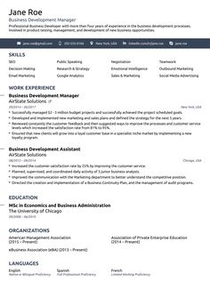 Template 2018 3 Resume Format Resume Examples Resume Format Resume