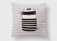 funda-cojin-50cms-cerdita-bandide Bed Pillows, Pillow Cases, Shopping, Slipcovers, Toss Pillows, Filing Cabinets, Interiors, Pillows