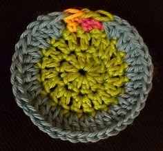 Invisible crochet finish