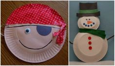 35 Amazing Paper Plate Crafts for Kids!    It's amazing what you can craft with paper plates!  Here are 35 incredible paper plate crafts complete with pictured instructions.  These paper crafts for kids include paper plate dress ups, animals, activities, holiday crafts, paper plate masks, and much more.