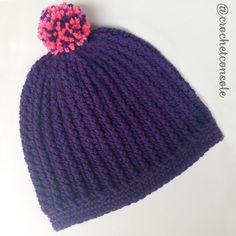 Ya pueden ver un nuevo patrn en el blog Se Punto Red Crochet, Crochet Diagram, Beanie, Hats, Blog, Fashion, Cowl, Crochet Beanie Pattern, Moda