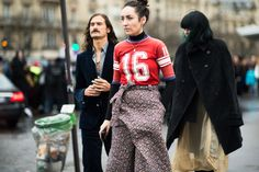 Paris Men's Fashion Week Fall 2014 Street Style Day 1 by Adam Katz Sinding.