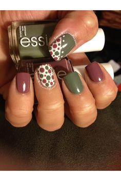 Fall Dotticure by YoungWildandPolished