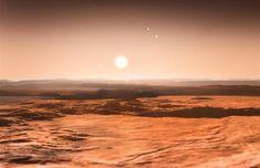 Un sistema solar con tres planetas en su 'zona habitable'