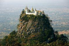 Día 5. El Monte Popa desde Bagan.