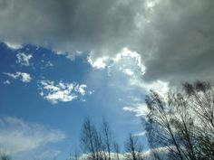 Spring Ural sky Russia, Spring, Sky, Clouds, Outdoor, Outdoors, Heaven, United Russia, Heavens