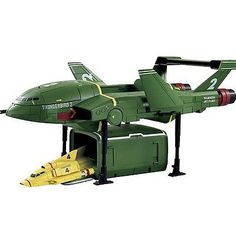 """Thunderbirds #supersize #thunderbird 2 with #thunderbird 4"""" #action figure new,  View more on the LINK: http://www.zeppy.io/product/gb/2/321900054639/"""
